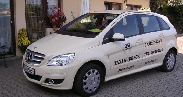 Fahrzeug 1 Taxi Südbeck